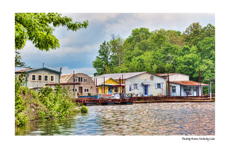 Floating Homes Lake Kentucky